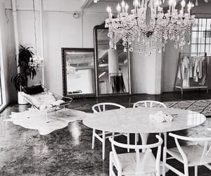 chandelier, decor, and interior image