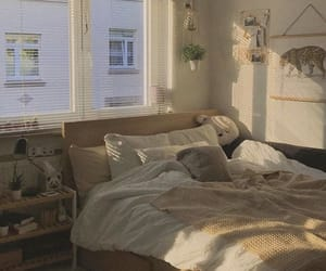 aesthetic, bedroom, and white image
