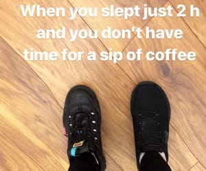 bed, shoes, and tired image