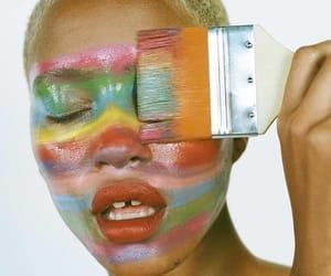 girl, makeup, and photo image
