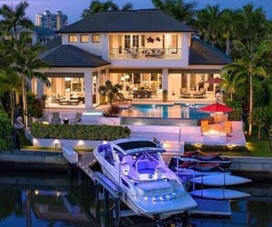 backyard, beauty, and boat image