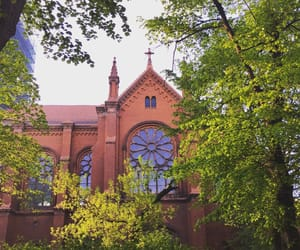 architecture, church, and berlin image