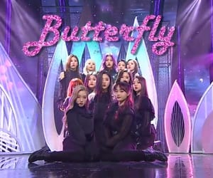 loona, butterfly, and yves image
