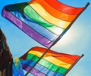 pride, lgbt, and rainbow image