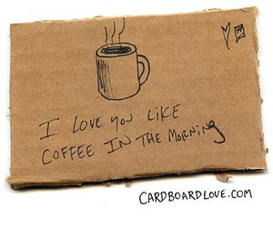 coffee, love, and morning image