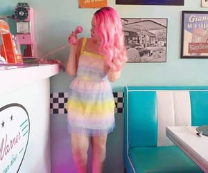 50s, aesthetic, and pink image