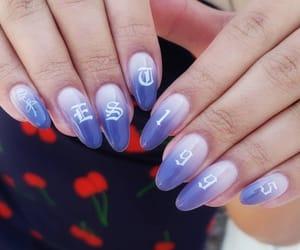 nails, purple, and est 1995 image