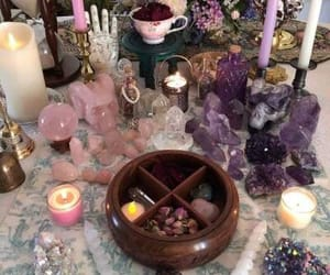 altar, spiritual, and witchcraft image