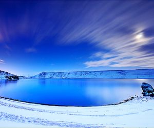 snow and water image