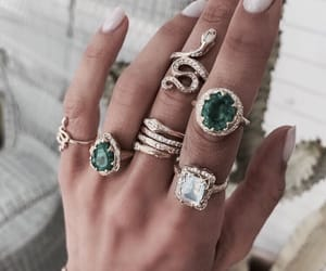accessories, colour, and green image
