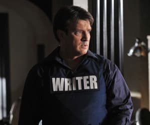 castle, show, and nathan fillion image