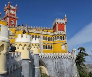 architecture, palace, and portugal image