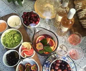 food, drink, and fruit image
