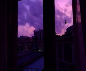 aesthetic, purple, and black image