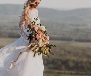 bridal gown, fashion, and wedding dress 2019 image
