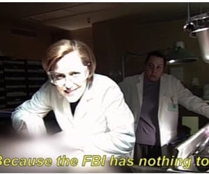 fbi, scully, and the x files image