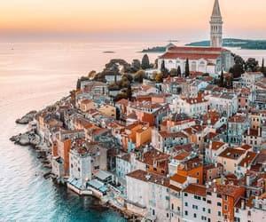 adriatic sea, city, and coast image