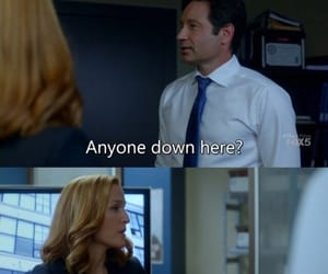 david duchovny, gillian anderson, and scully image