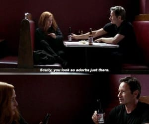 mulder, txf, and scully image