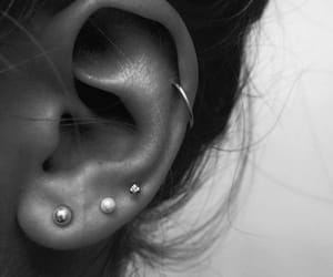 piercing, ear, and helix image