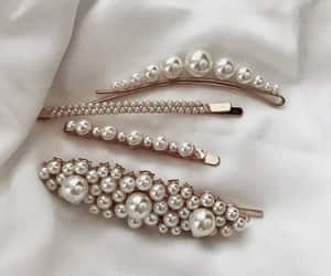 accessories, pearls, and beauty image
