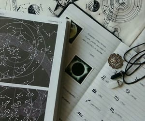 astrology, astronomy, and moon image