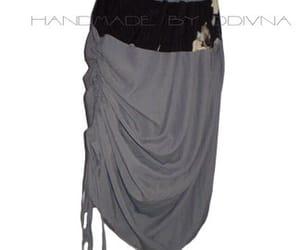 fluffy skirt, skirt, and simple skirt image