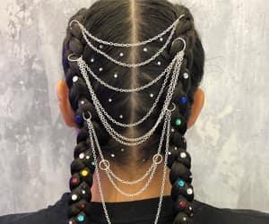 braided hair and festival hair image