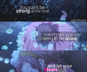 cry, quotes, and anime image