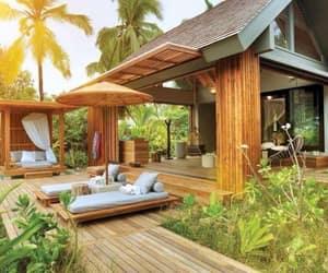 backyard, chilling, and backyard ideas image