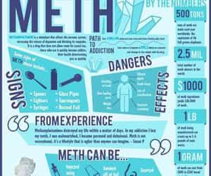 addiction, meth, and addictions image