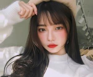 aesthetic, korean, and girl image