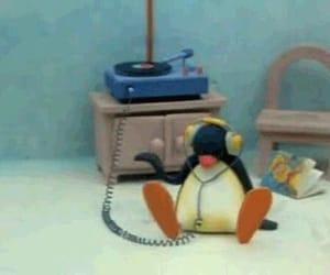 music, pingu, and penguin image