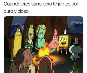 amigos, bob esponja, and facebook image