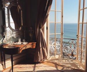 sea, room, and home image