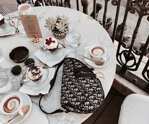chic, coffe, and expensive image