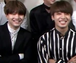 bts, min yoongi, and yoonkook image