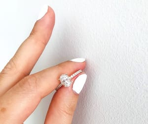 engaged, lilyclare, and proposal image