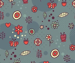 background, wallpaper, and kawii pattern image