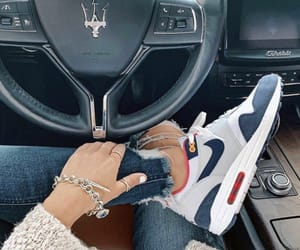 aesthetic, air max 1, and blues image
