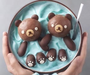 food, bear, and delicious image