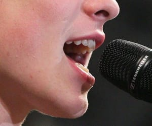 chin, lips, and mouth image
