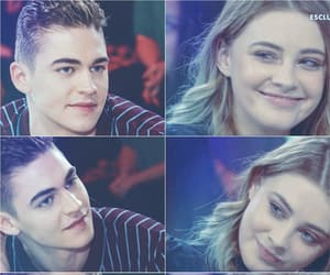 couple, hero fiennes-tiffin, and love image