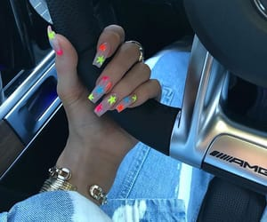nails, stars, and kylie jenner image