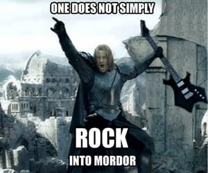 lord of the rings, boromir, and mordor image