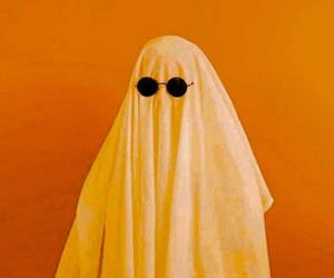 orange and ghost image