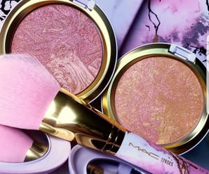 blush, make up, and shimmer image