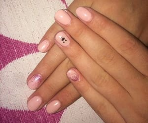 black, pink, and girl image