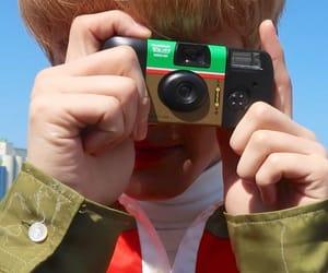 boy, camera, and detail image