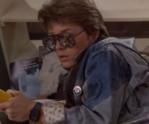 Back to the Future, 80s, and 90s image